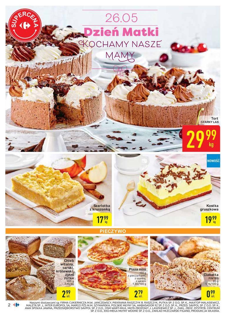 Gazetka promocyjna Carrefour do 26/05/2019 str.1