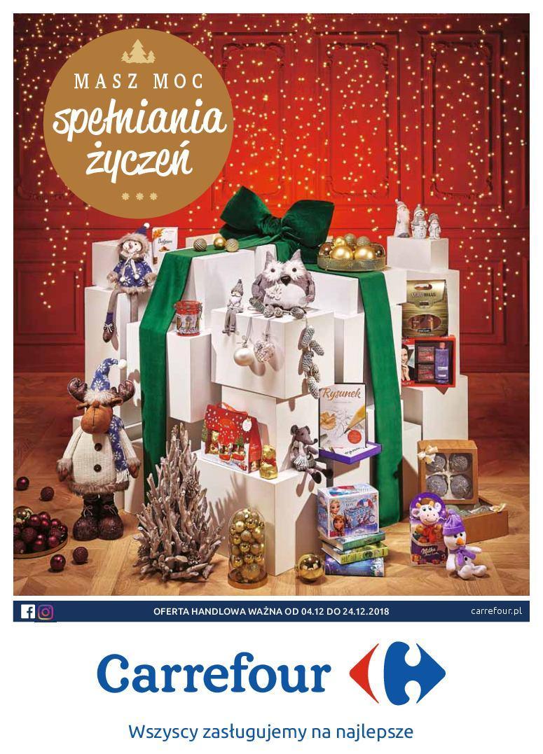 Gazetka promocyjna Carrefour do 24/12/2018 str.1