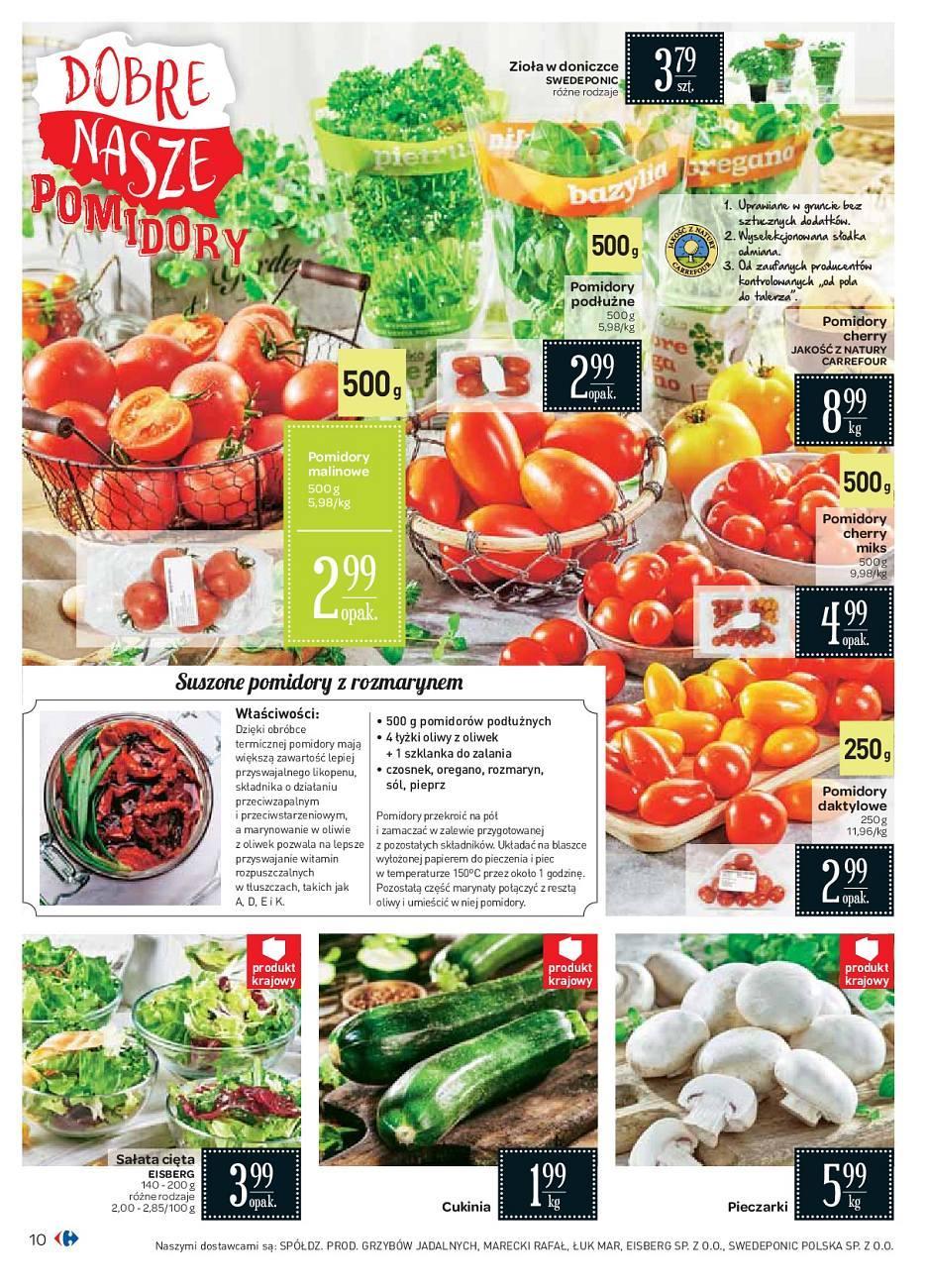 Gazetka promocyjna Carrefour do 18/08/2018 str.10