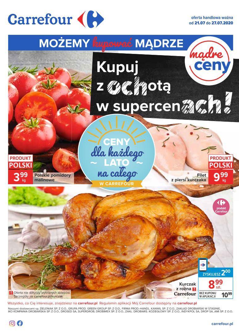 Gazetka promocyjna Carrefour do 27/07/2020 str.0