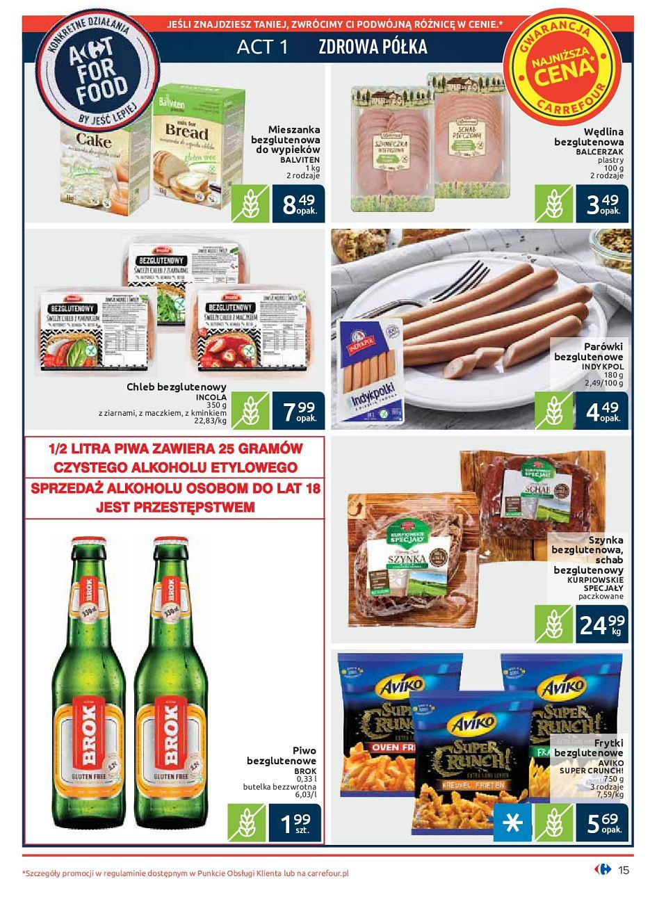 Gazetka promocyjna Carrefour do 30/09/2018 str.14