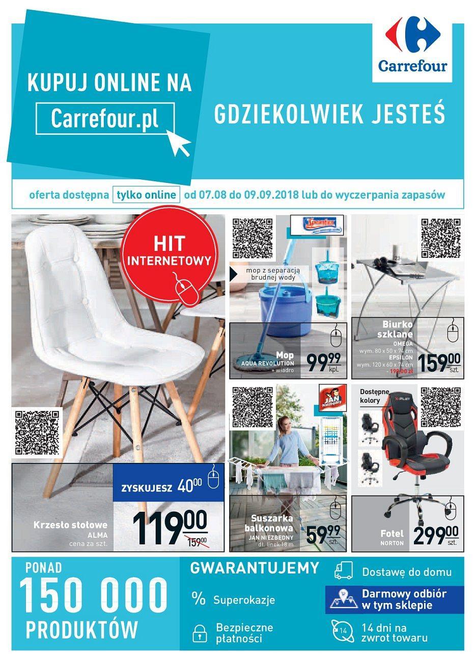 Gazetka promocyjna Carrefour do 09/09/2018 str.0