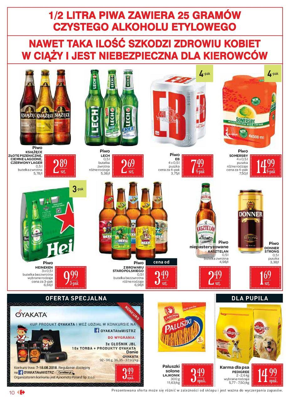Gazetka promocyjna Carrefour Market do 18/08/2018 str.10