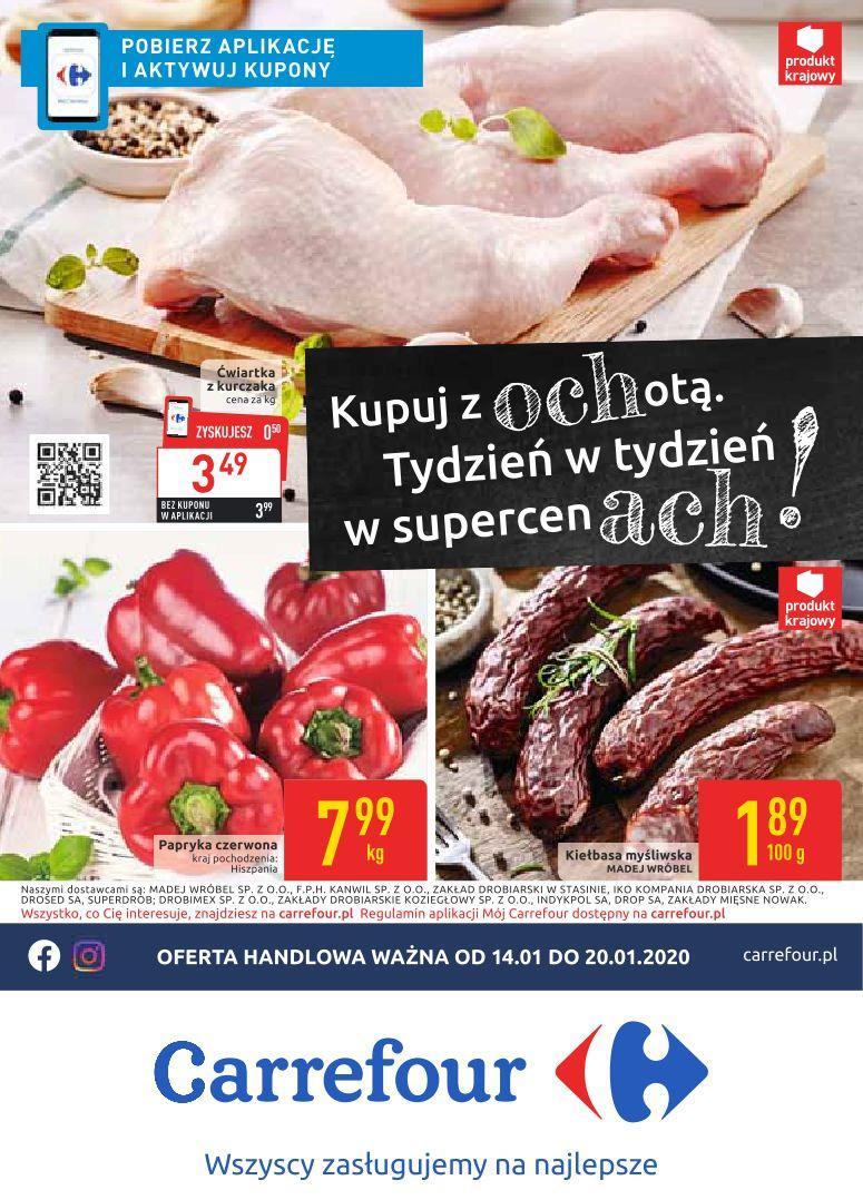 Gazetka promocyjna Carrefour do 20/01/2020 str.0
