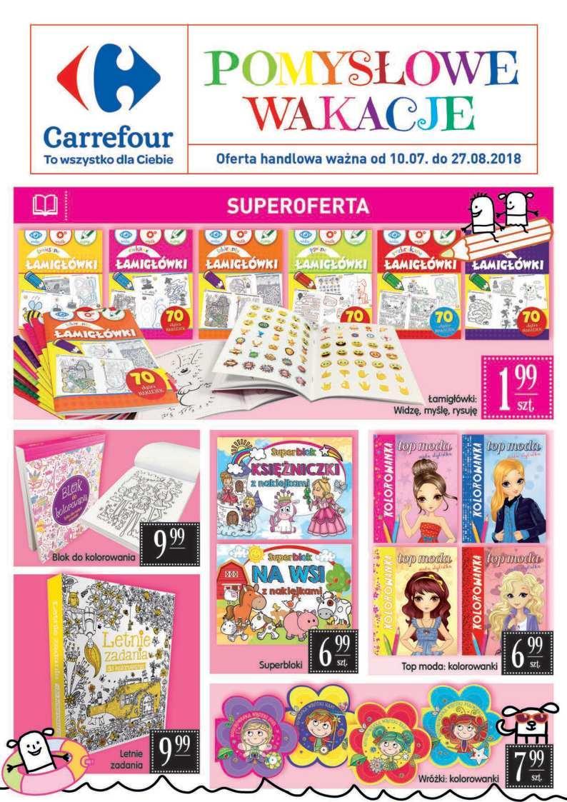 Gazetka promocyjna Carrefour do 27/08/2018 str.0