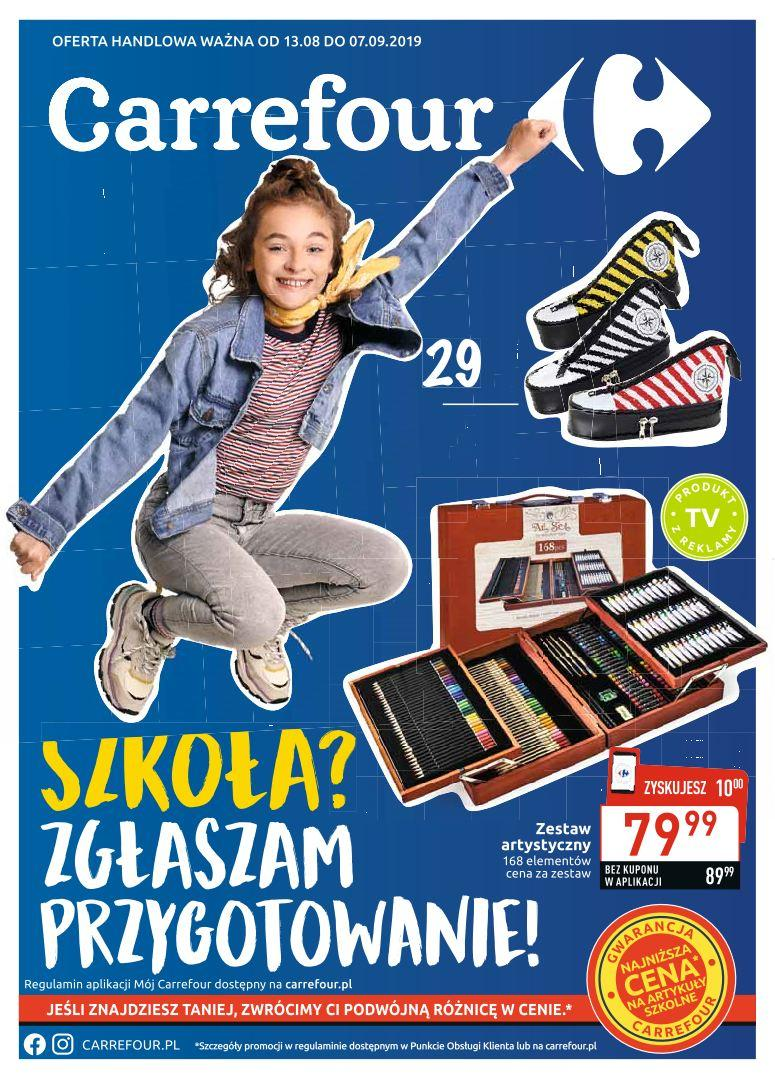 Gazetka promocyjna Carrefour do 07/09/2019 str.1