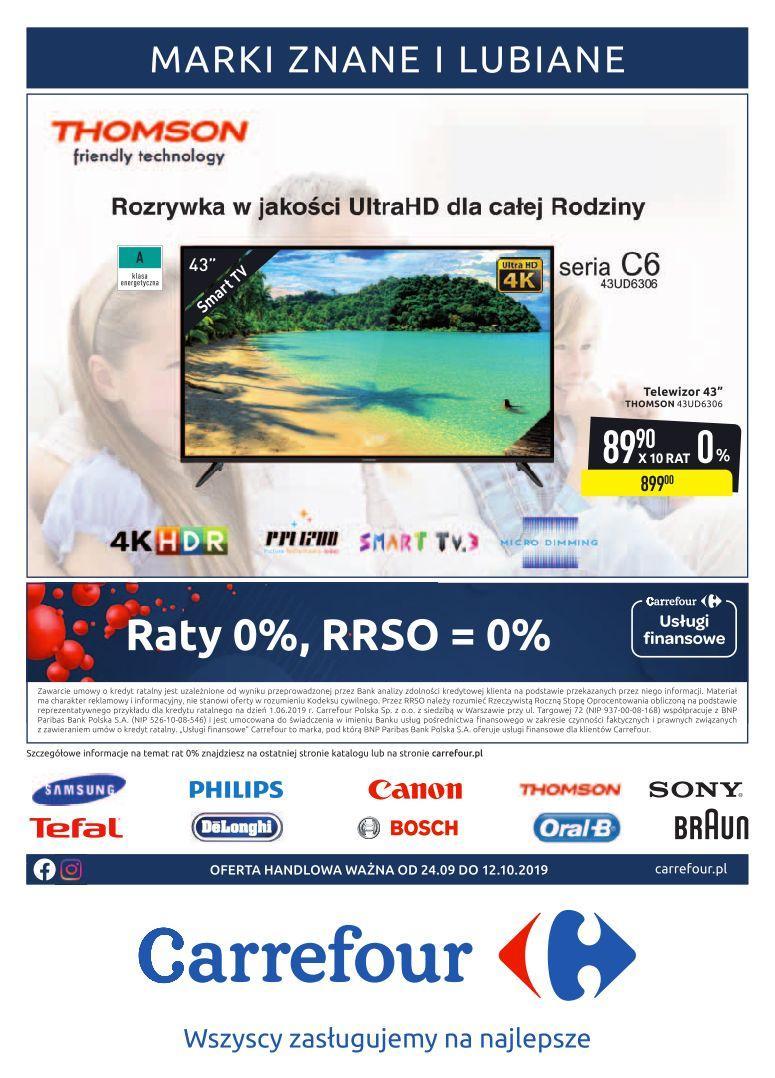Gazetka promocyjna Carrefour do 12/10/2019 str.1