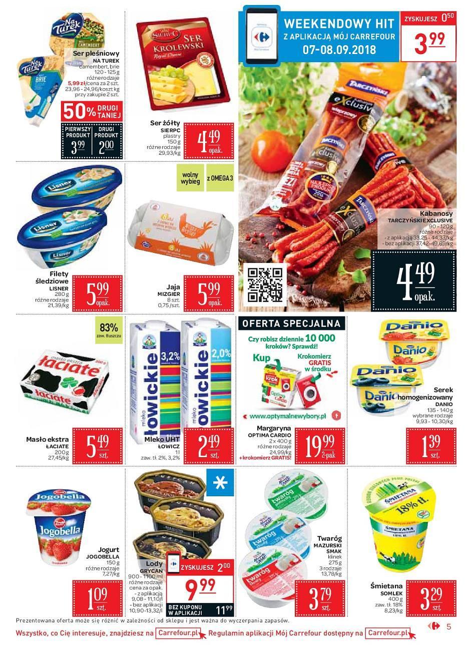 Gazetka promocyjna Carrefour Market do 15/09/2018 str.5