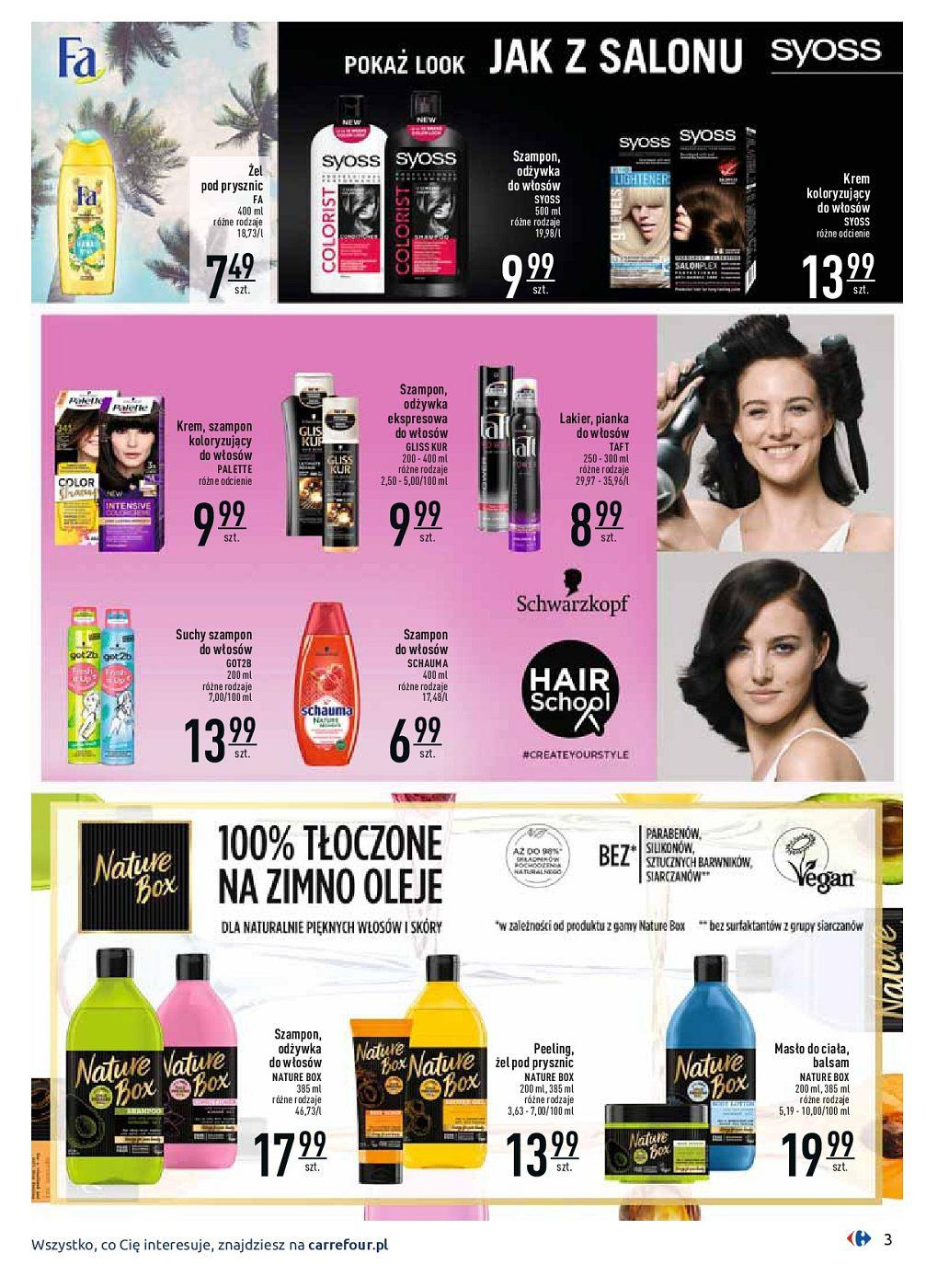 Gazetka promocyjna Carrefour do 30/09/2018 str.3