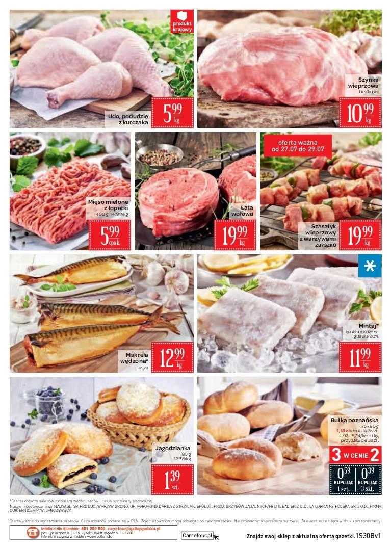Gazetka promocyjna Carrefour Market do 30/07/2018 str.1