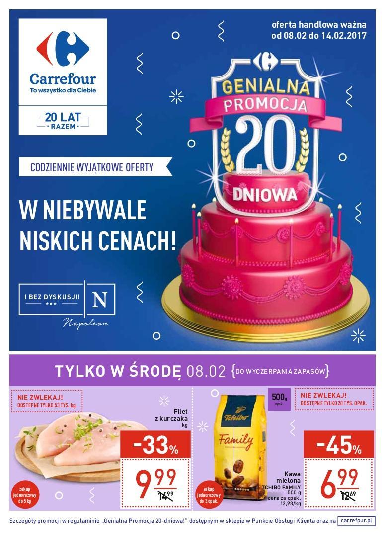 Gazetka promocyjna Carrefour do 14/02/2017 str.0
