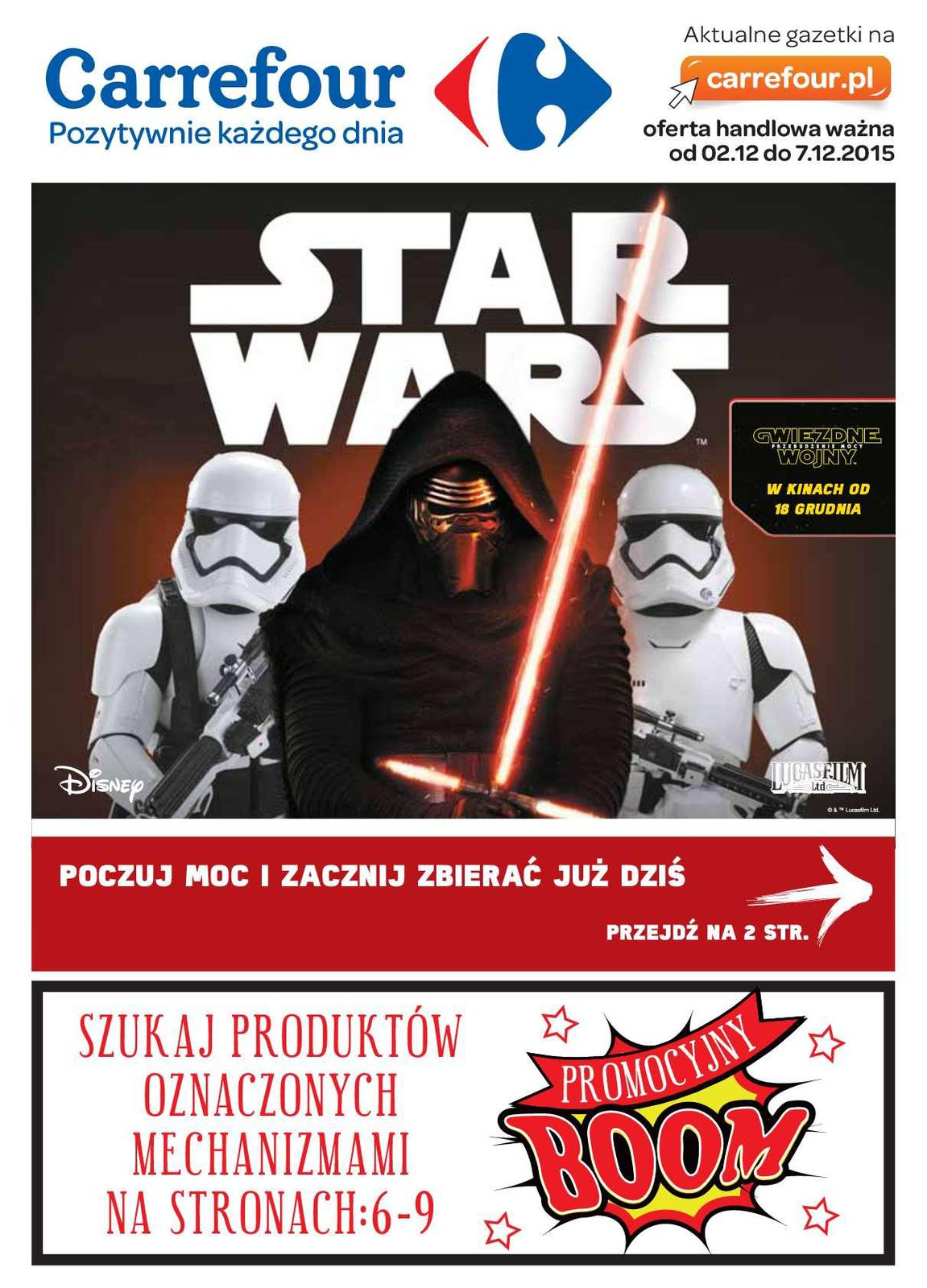Gazetka promocyjna Carrefour do 07/12/2015 str.0