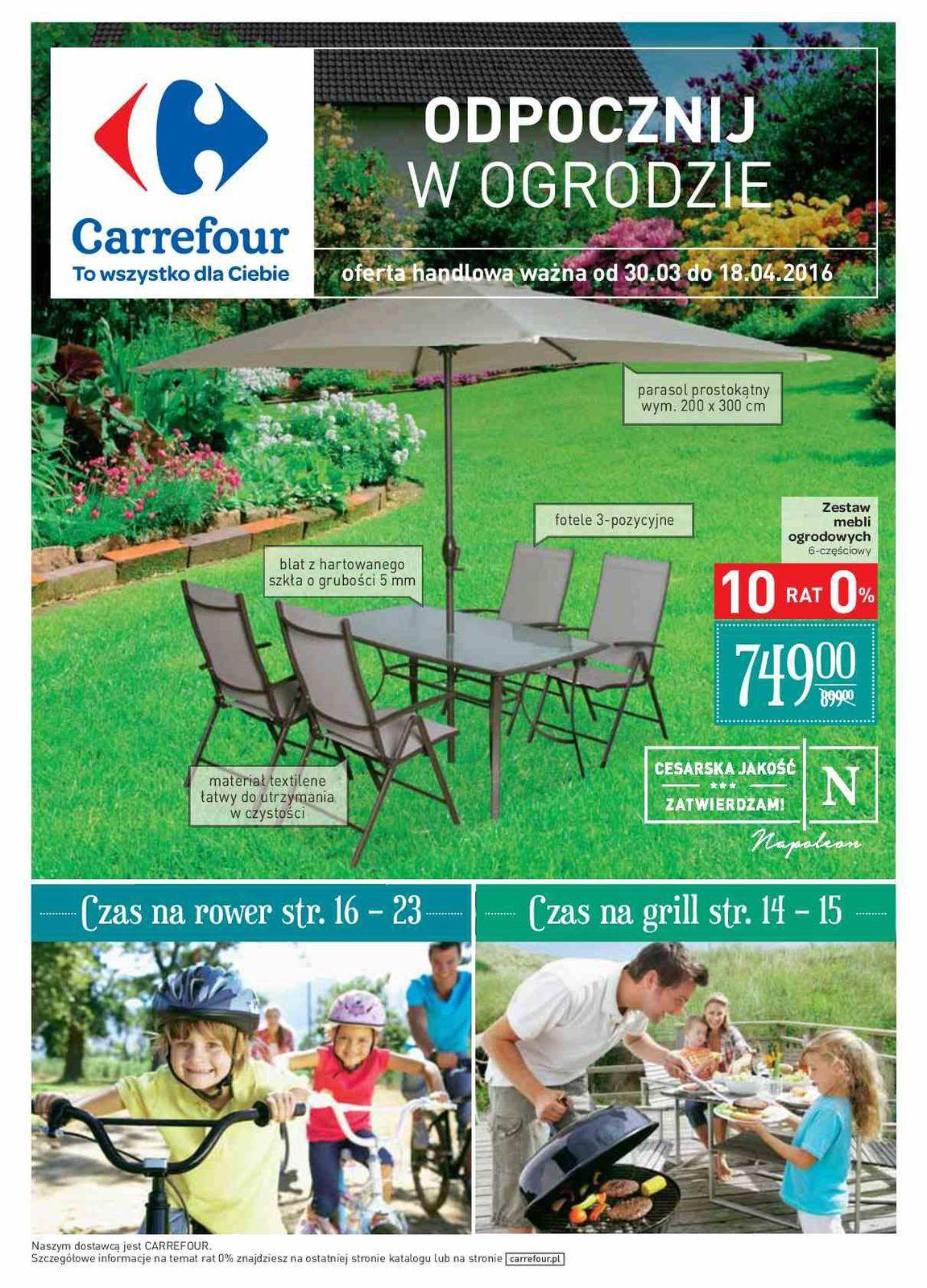 Gazetka promocyjna Carrefour do 18/04/2016 str.0