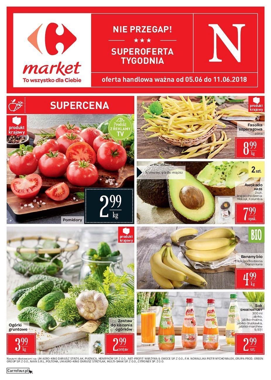 Gazetka promocyjna Carrefour Market do 11/06/2018 str.0