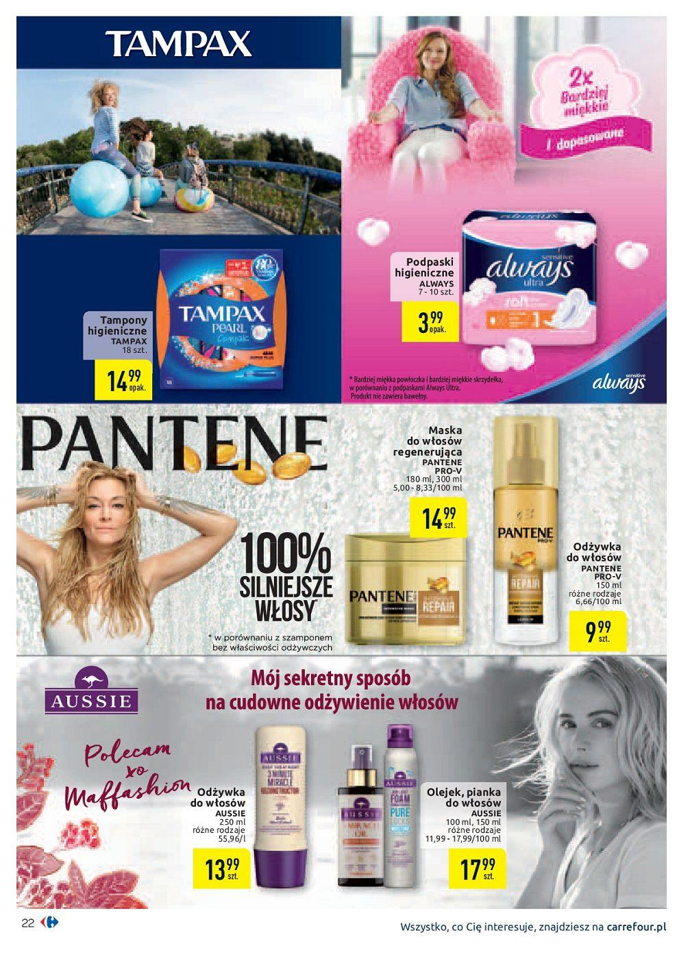 Gazetka promocyjna Carrefour do 30/09/2018 str.22