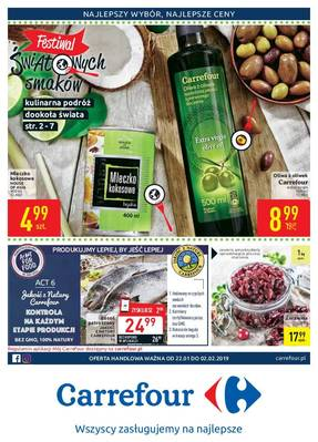 Carrefour gazetka - od 22/01/2019 do 02/02/2019