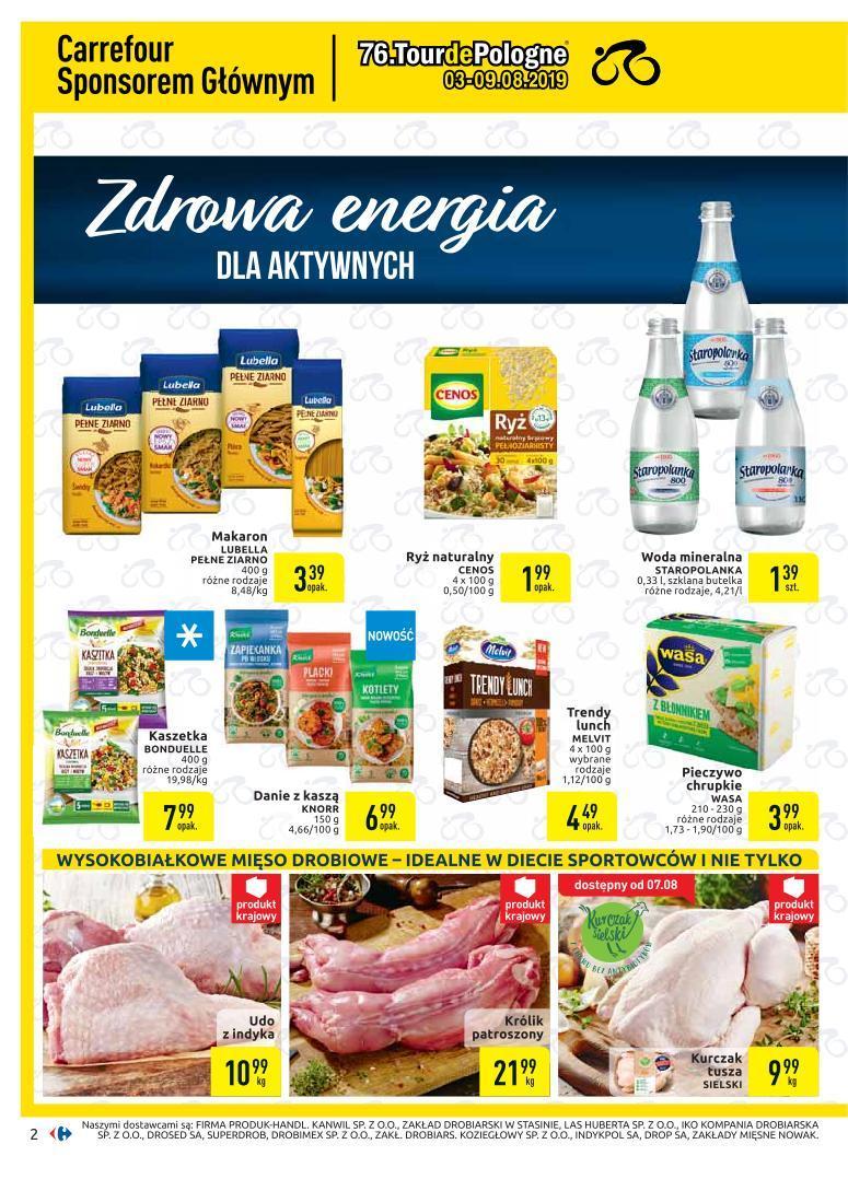 Gazetka promocyjna Carrefour do 19/08/2019 str.2