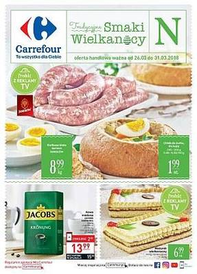 Carrefour gazetka - od 26/03/2018 do 31/03/2018