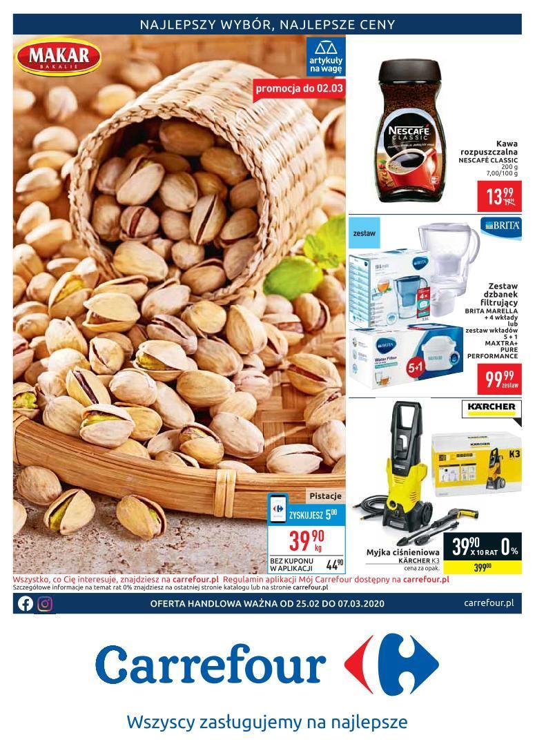 Gazetka promocyjna Carrefour do 07/03/2020 str.1