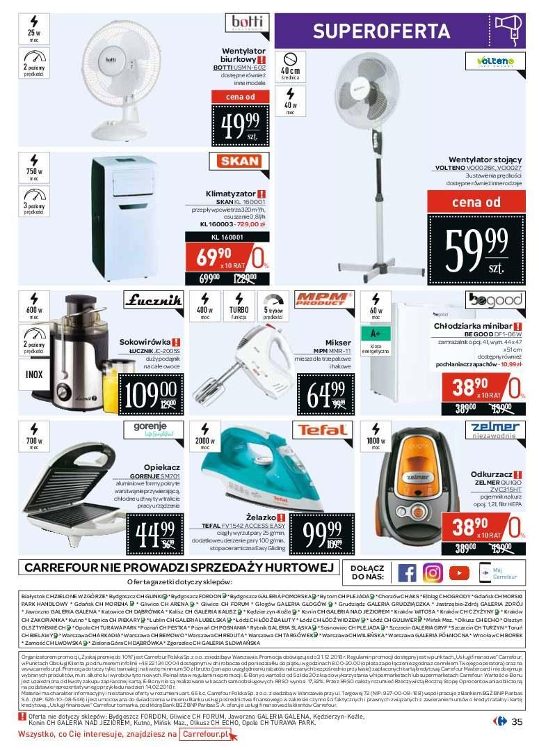 Gazetka promocyjna Carrefour do 09/06/2018 str.35