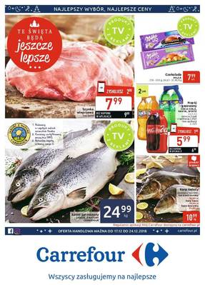 Carrefour gazetka - od 17/12/2018 do 24/12/2018
