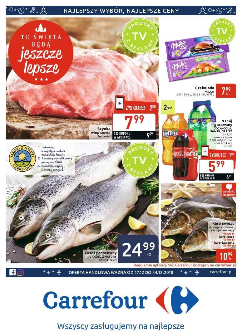 Gazetka promocyjna Carrefour do 24/12/2018 str.0