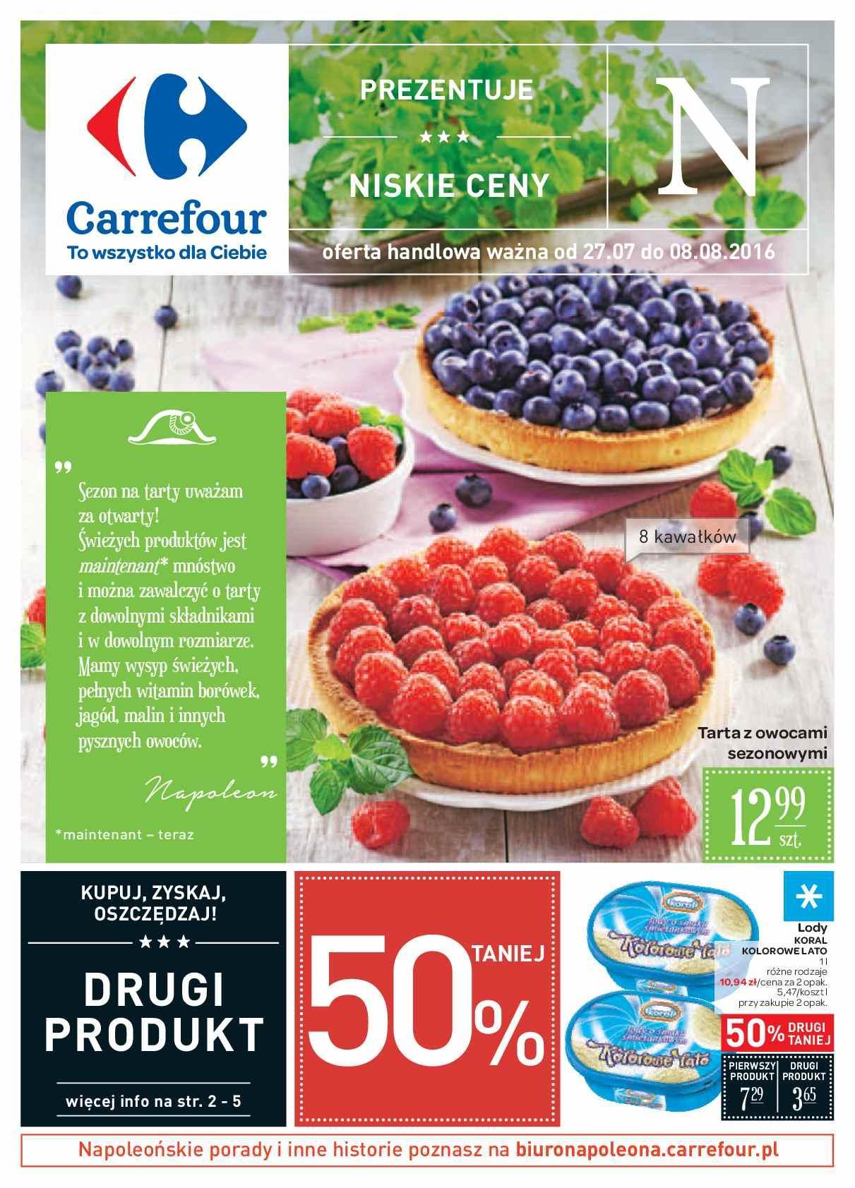 Gazetka promocyjna Carrefour do 08/08/2016 str.0