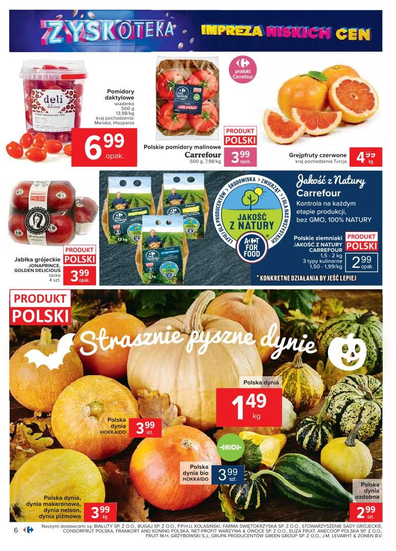 Gazetka promocyjna Carrefour do 24/10/2020 str.6