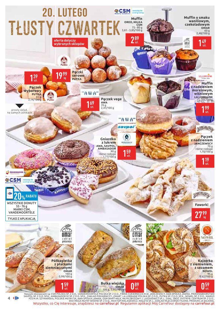 Gazetka promocyjna Carrefour do 24/02/2020 str.4