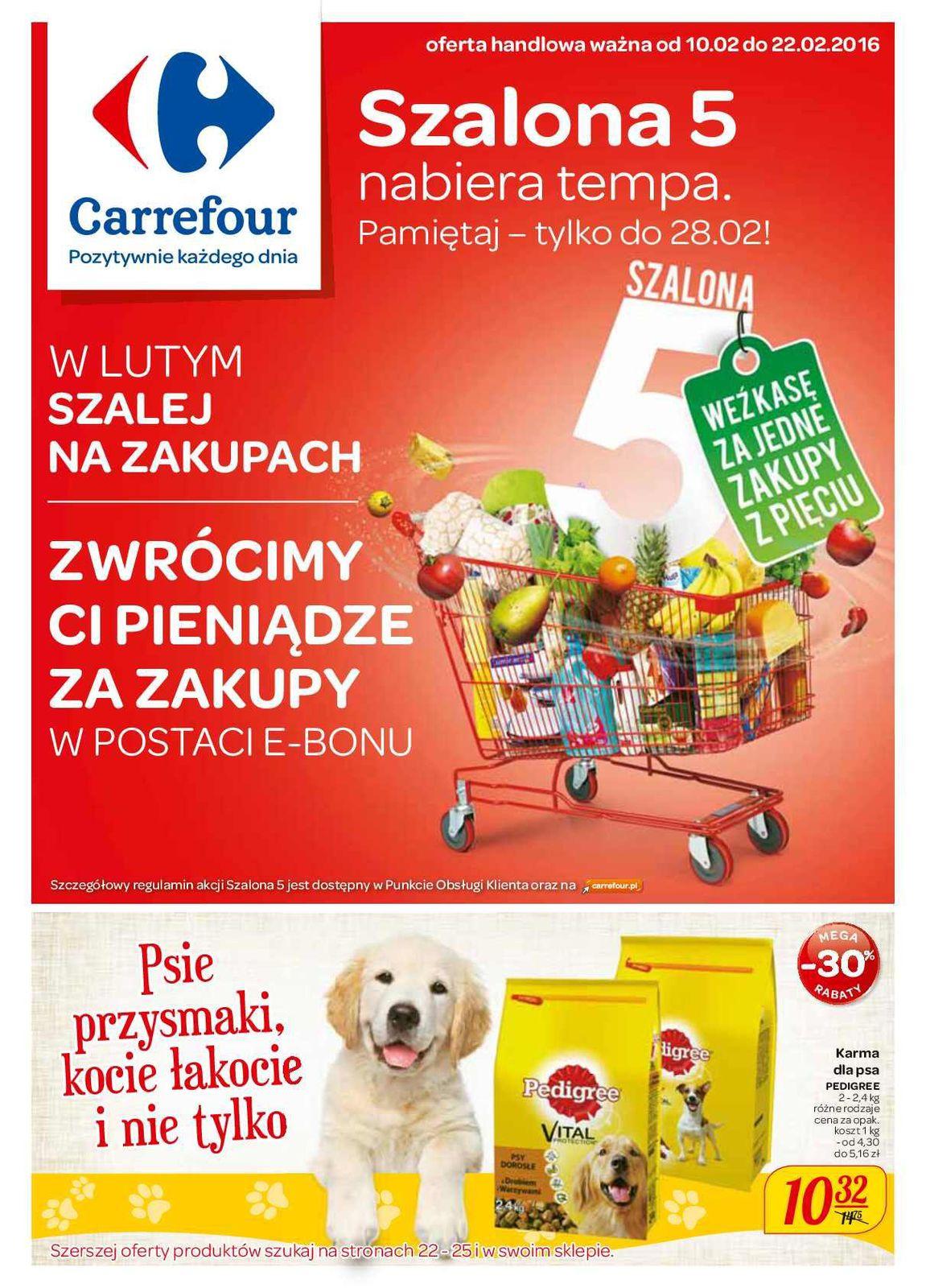 Gazetka promocyjna Carrefour do 22/02/2016 str.0
