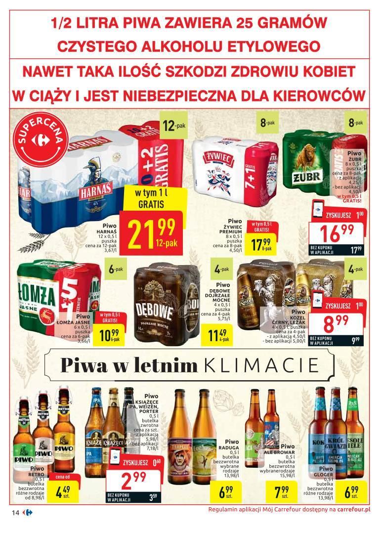 Gazetka promocyjna Carrefour do 20/07/2019 str.14