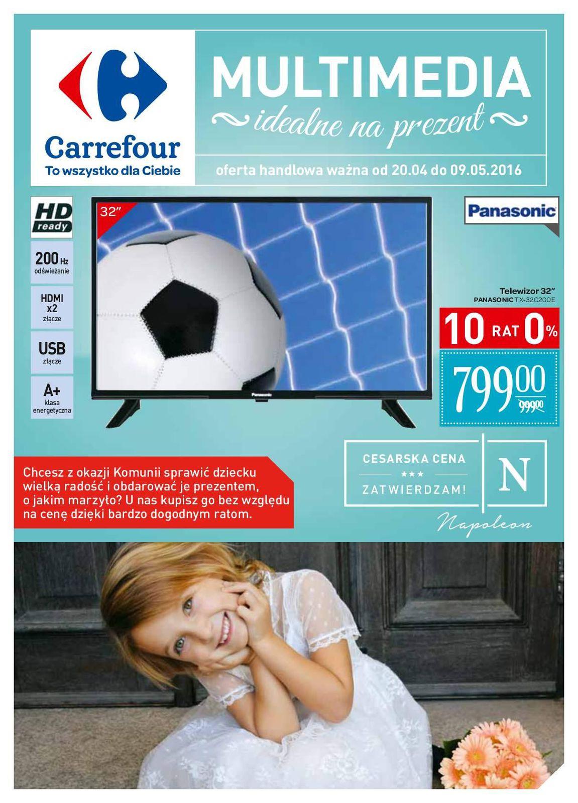 Gazetka promocyjna Carrefour do 09/05/2016 str.0