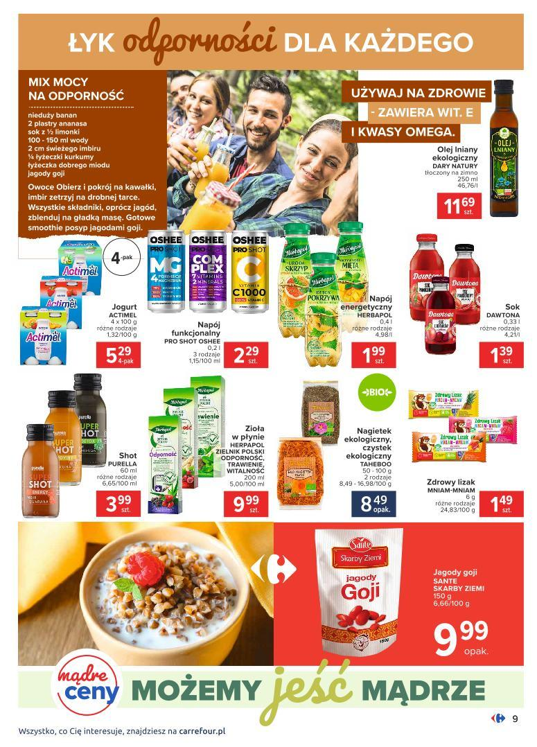 Gazetka promocyjna Carrefour do 07/11/2020 str.9