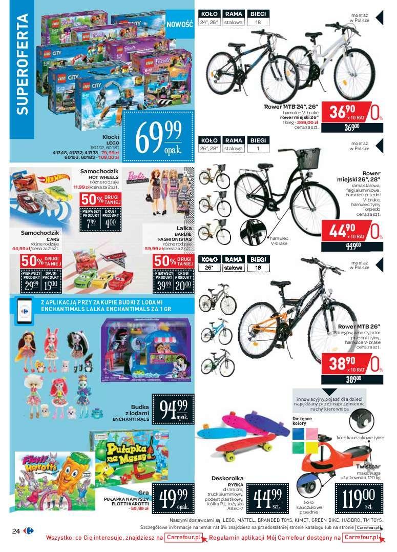 Gazetka promocyjna Carrefour do 24/06/2018 str.23