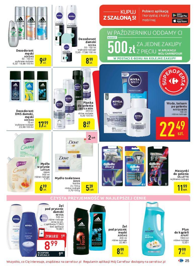 Gazetka promocyjna Carrefour do 07/10/2018 str.25