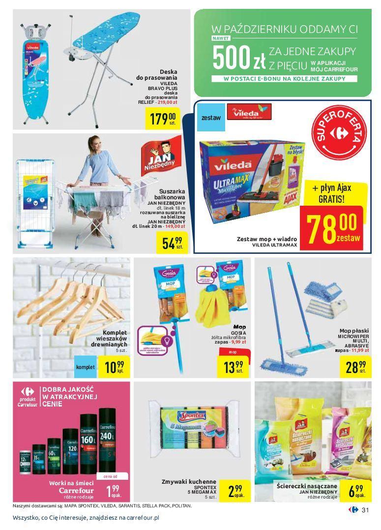 Gazetka promocyjna Carrefour do 07/10/2018 str.31