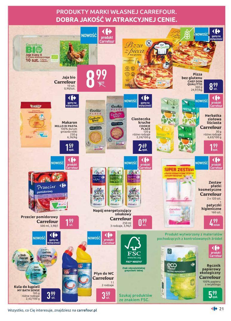Gazetka promocyjna Carrefour do 19/08/2019 str.20