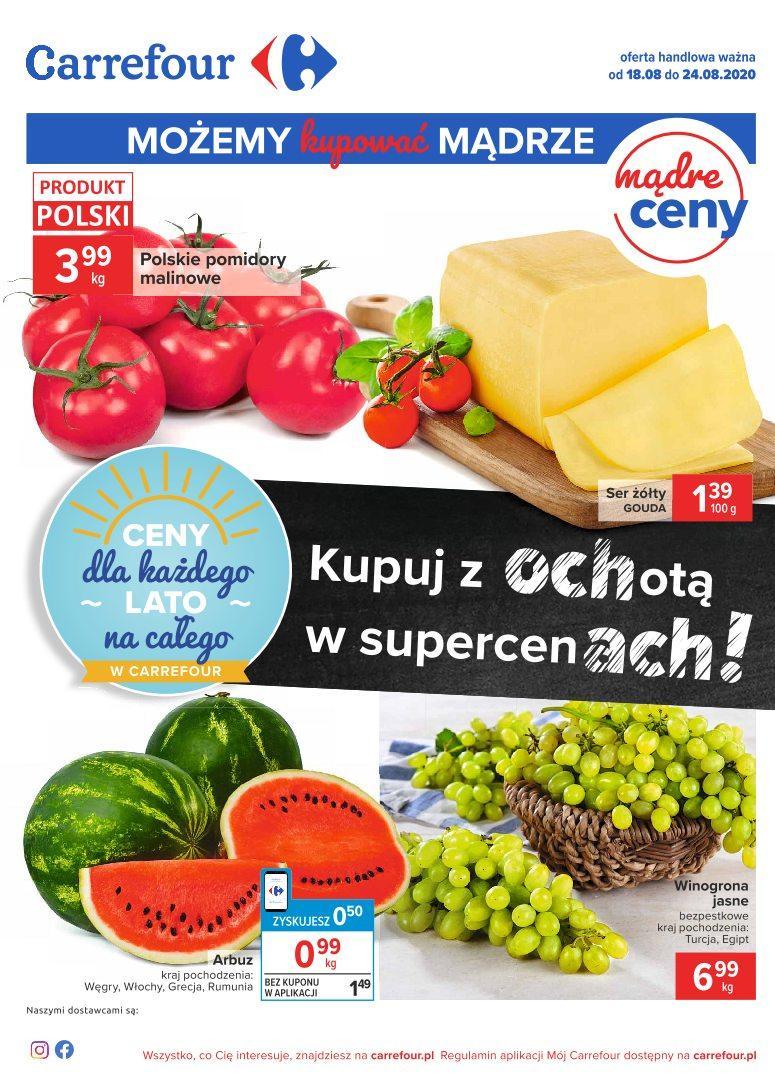Gazetka promocyjna Carrefour do 24/08/2020 str.0
