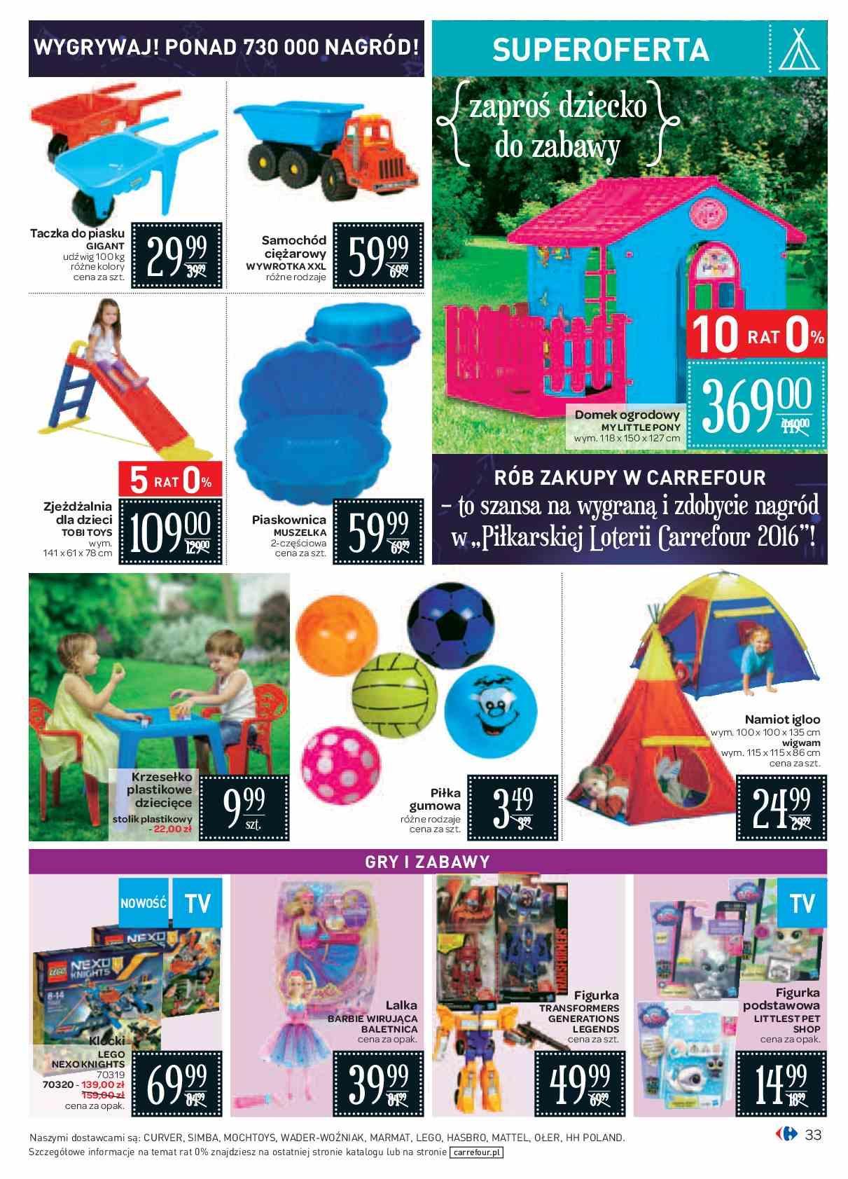 Gazetka Promocyjna I Reklamowa Carrefour Pilkarska Loteria Od 01