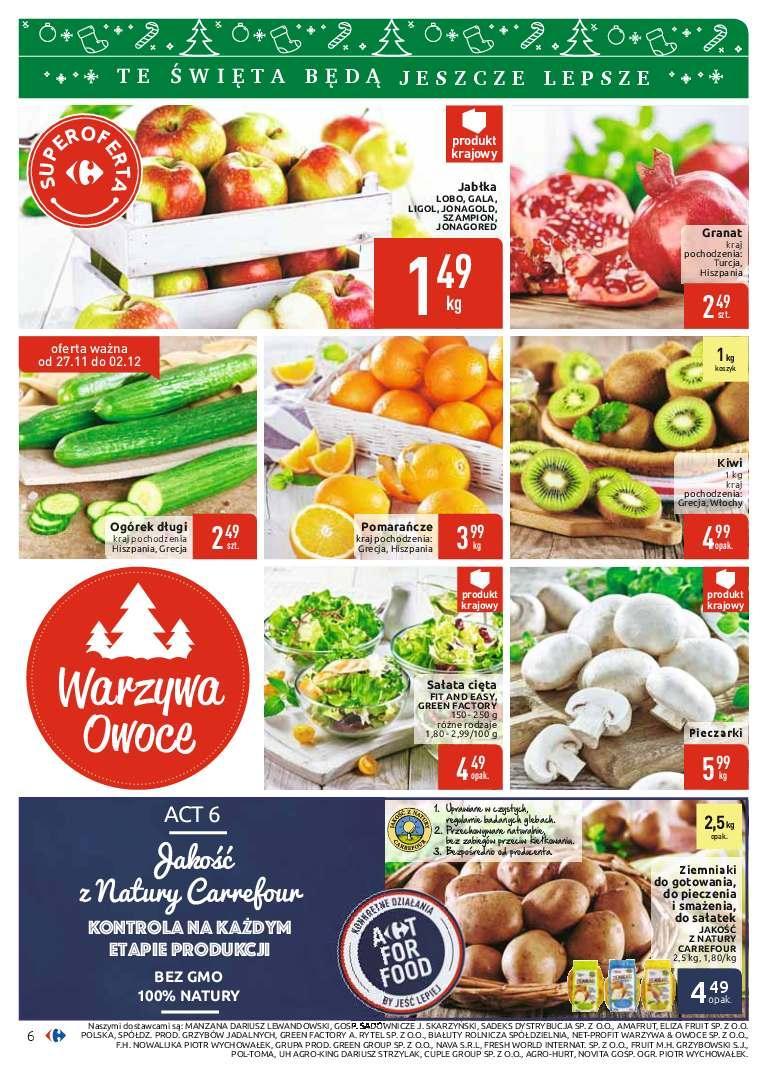 Gazetka promocyjna Carrefour do 08/12/2018 str.6