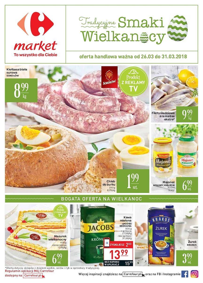 Gazetka promocyjna Carrefour Market do 31/03/2018 str.0