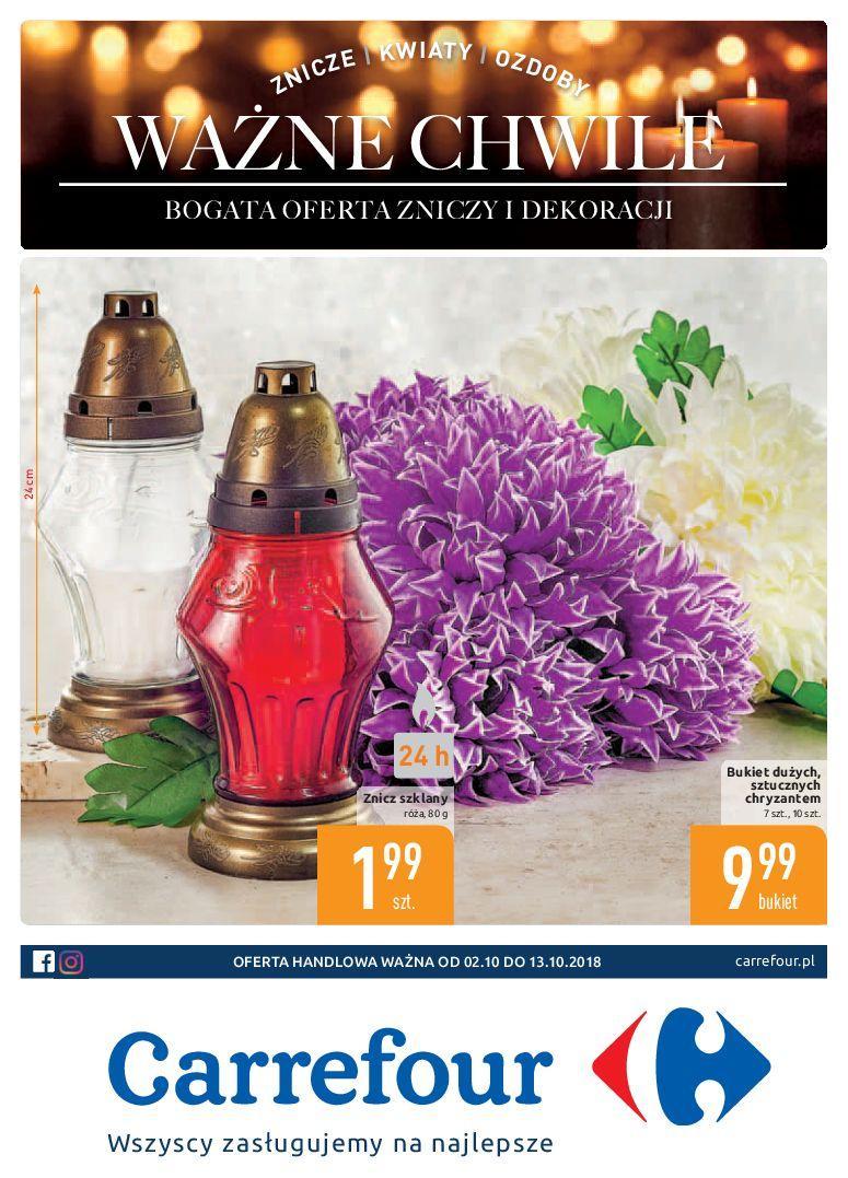 Gazetka promocyjna Carrefour do 13/10/2018 str.0