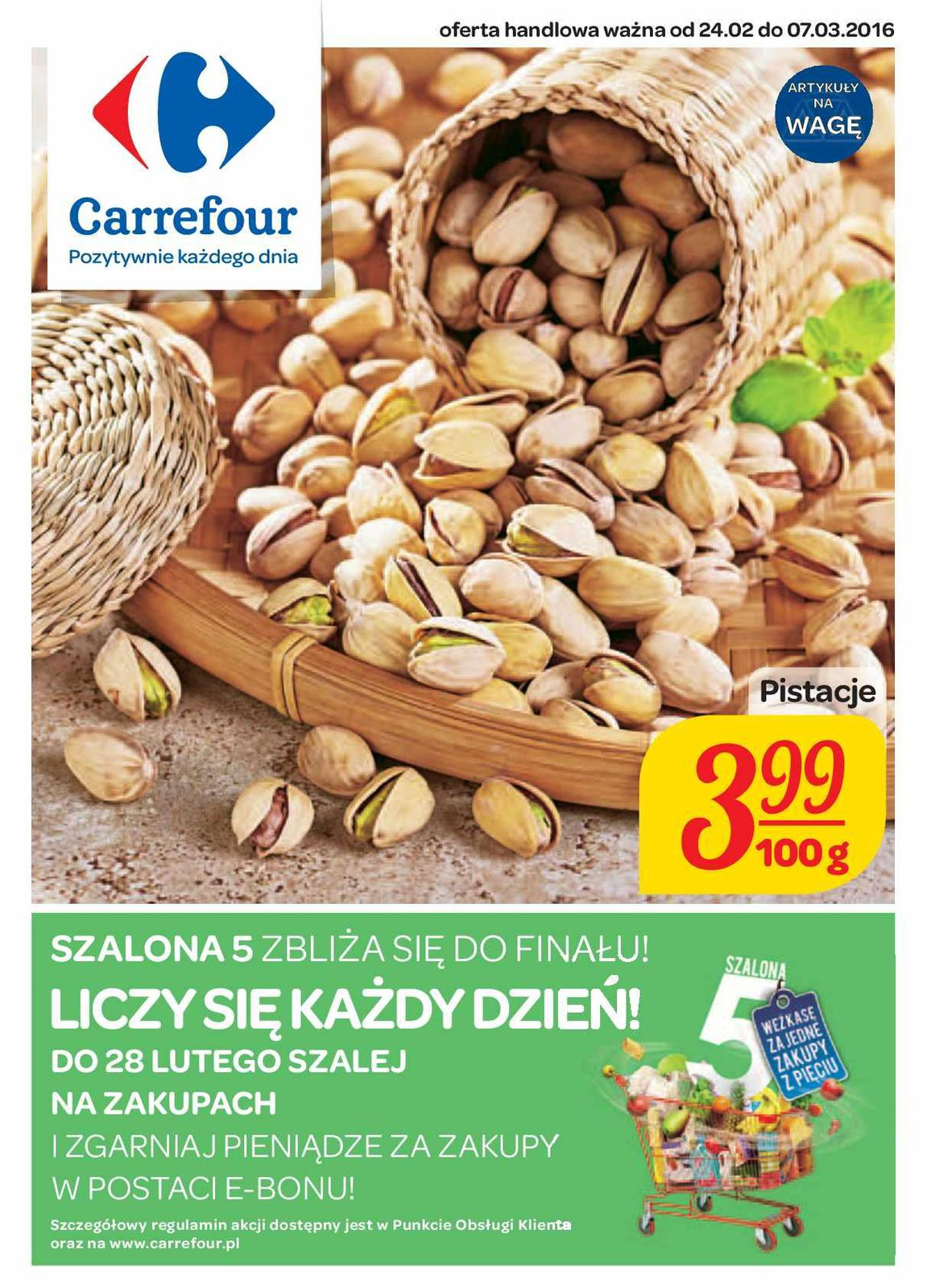 Gazetka promocyjna Carrefour do 07/03/2016 str.0