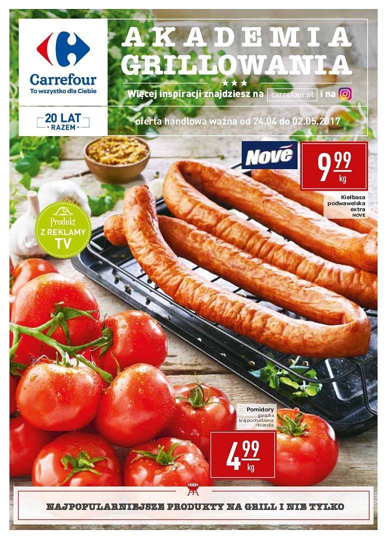 Gazetka promocyjna Carrefour do 02/05/2017 str.0
