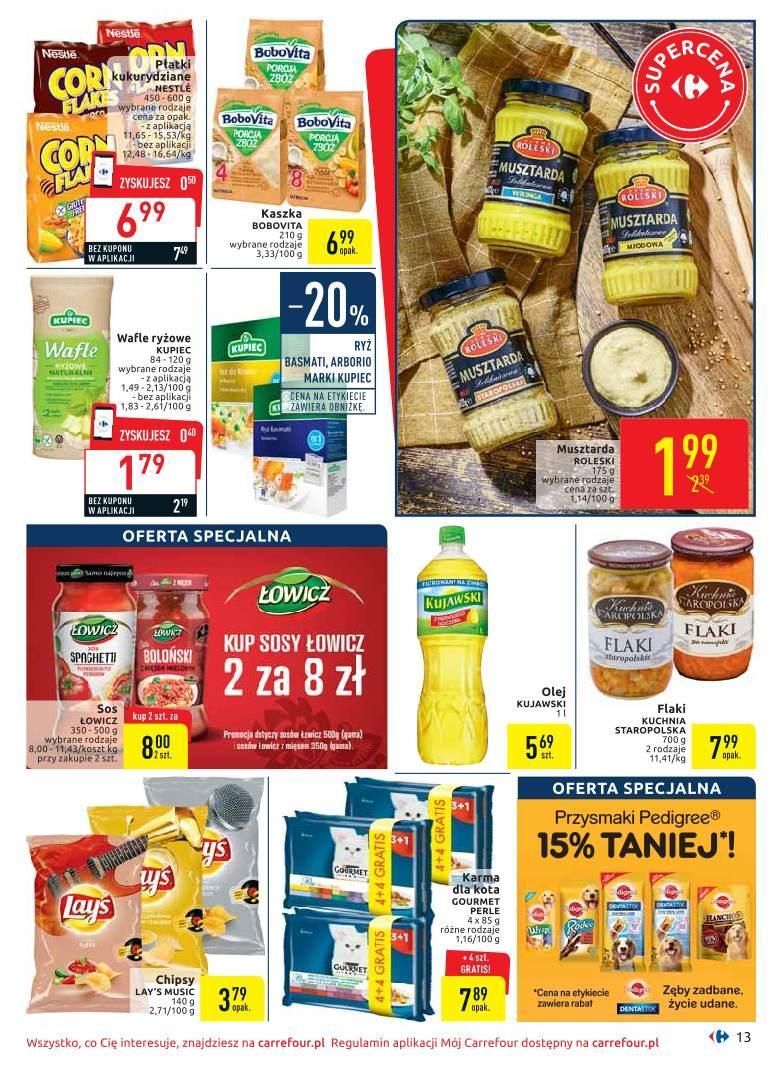 Gazetka promocyjna Carrefour do 20/07/2019 str.13