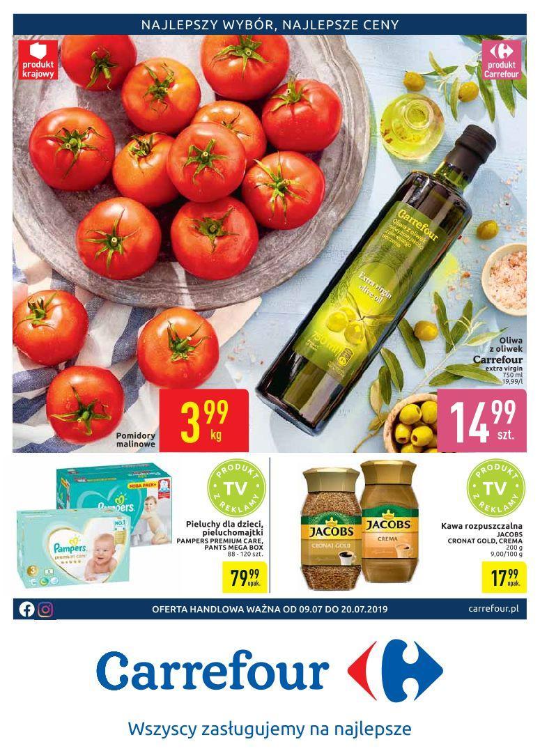 Gazetka promocyjna Carrefour do 20/07/2019 str.1