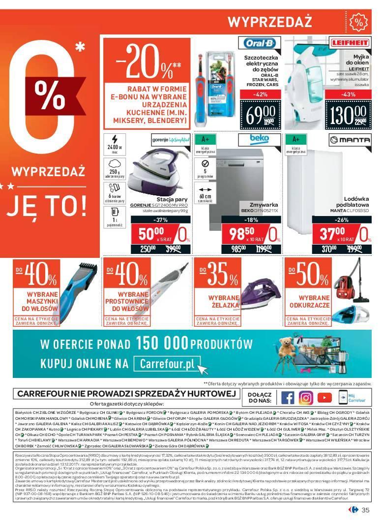Gazetka promocyjna Carrefour do 07/07/2018 str.35