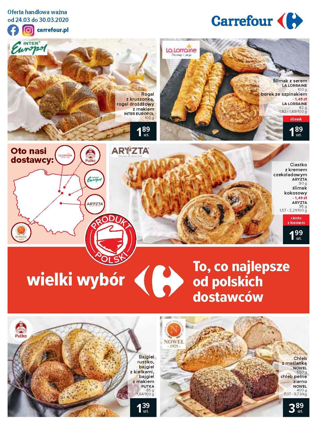 Gazetka promocyjna Carrefour do 30/03/2020 str.1