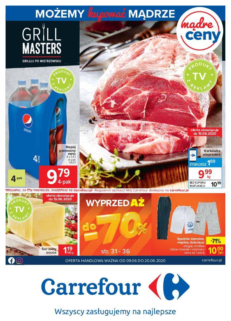 Gazetka promocyjna Carrefour do 20/06/2020 str.0