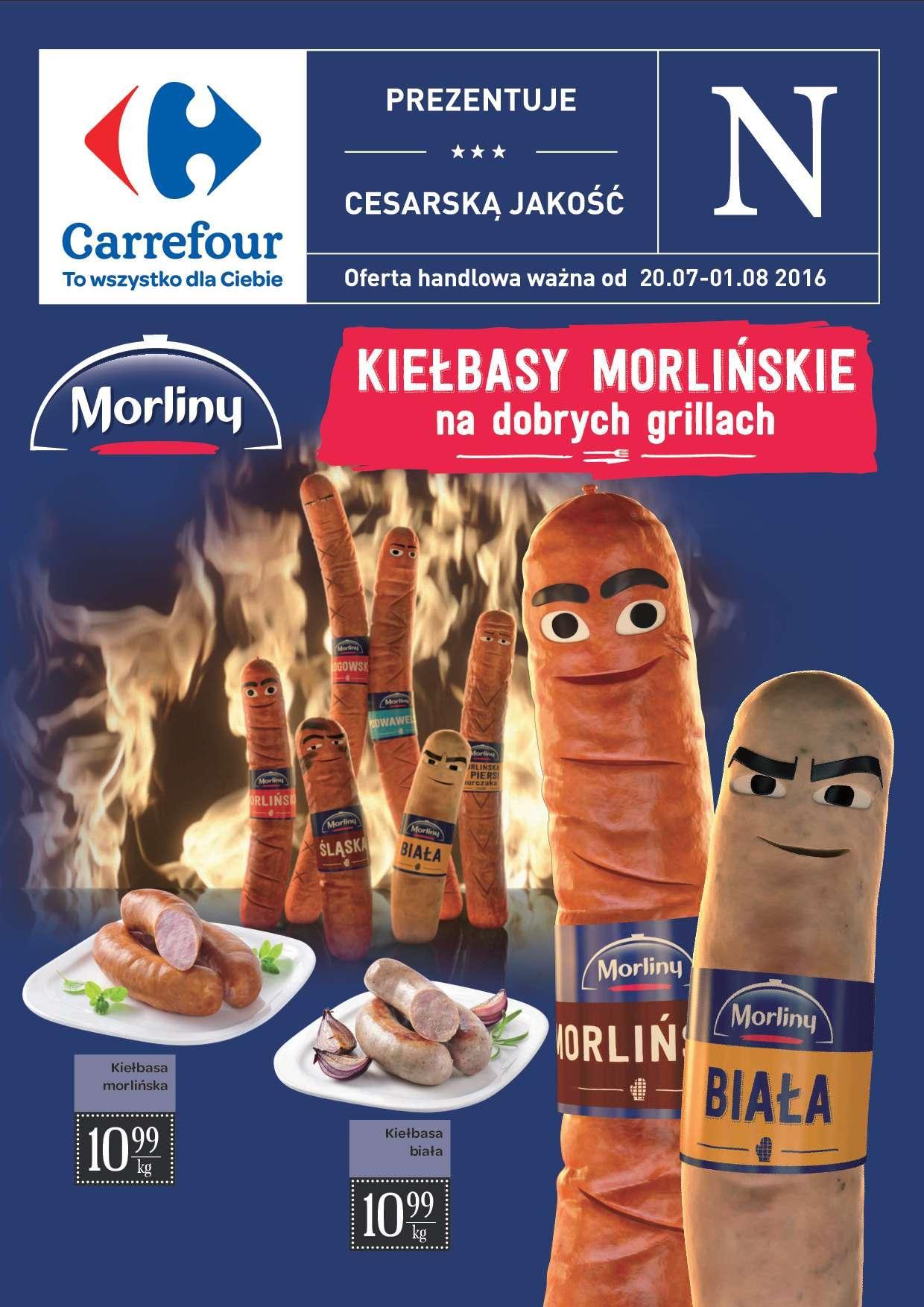 Gazetka promocyjna Carrefour do 01/08/2016 str.0